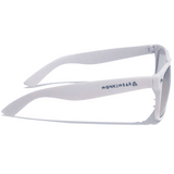 Diffraction Glasses - Vortex, Spiral Effect (White) - WonkiWear