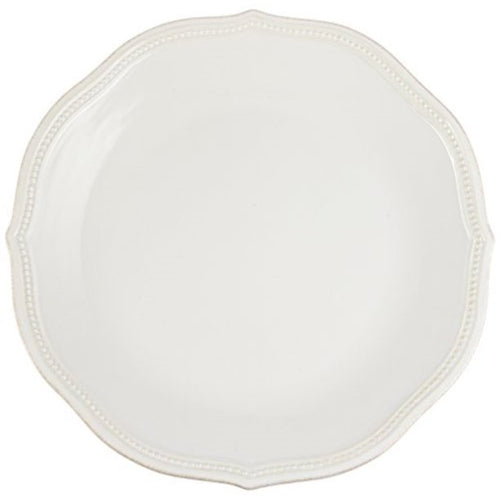 Lenox French Perle Bead White Dinner Plate