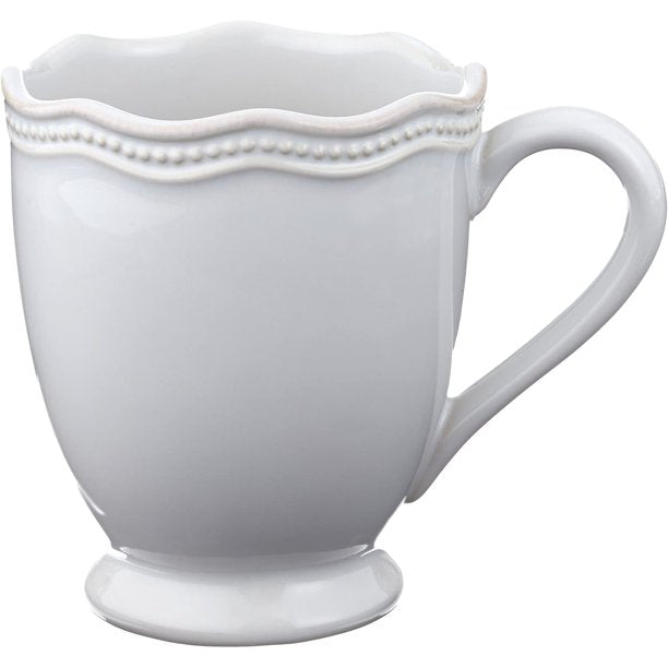 Lenox French Perle Bead White Mug