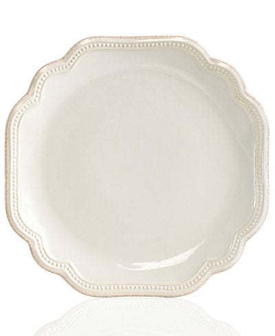 Lenox French Perle Bead White Salad Plate