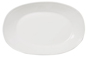 Vietri Fresh White large Oval Platter