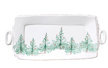 Load image into Gallery viewer, Vietri Lastra Holiday Handled Rectangular Platter