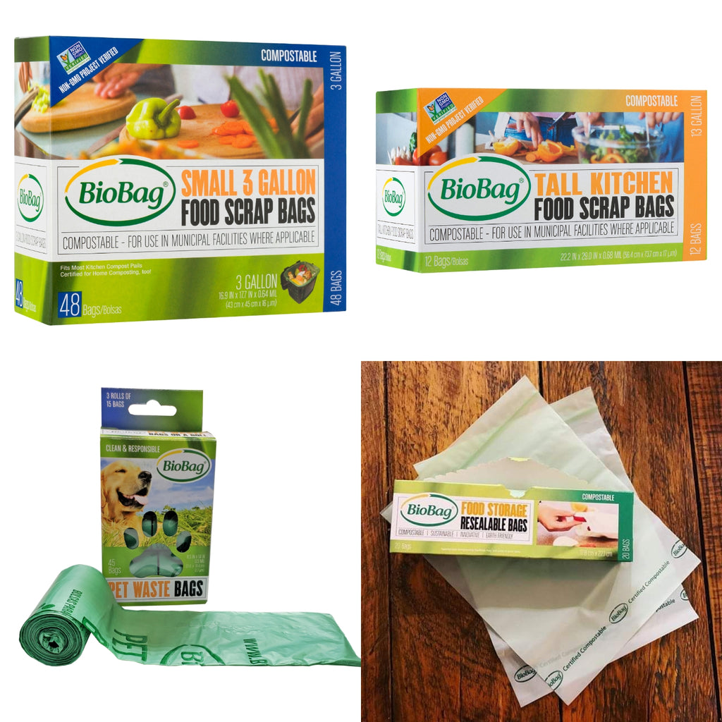 Multipurpose compostable bags bundle