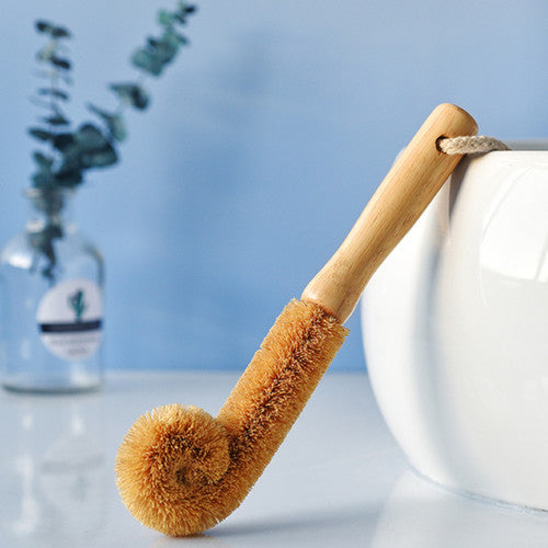 Multipurpose cleaning brushes