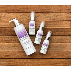 Sanitizing apothecary lavender lotion