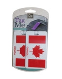Go Travel Tag Me Luggage Tags 2 Pack