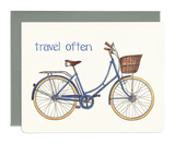 Gotamago Safe Travels Greeting Cards