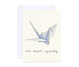 Sympathy and Thinking of You Greeting Cards by Gotamago