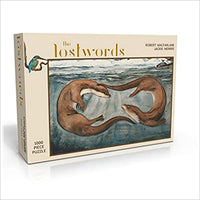 Lost Words Otter Jigsaw Puzzle - 1000 pieces