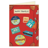 Cavallini Papers Co. Safe Travels Greeting Cards