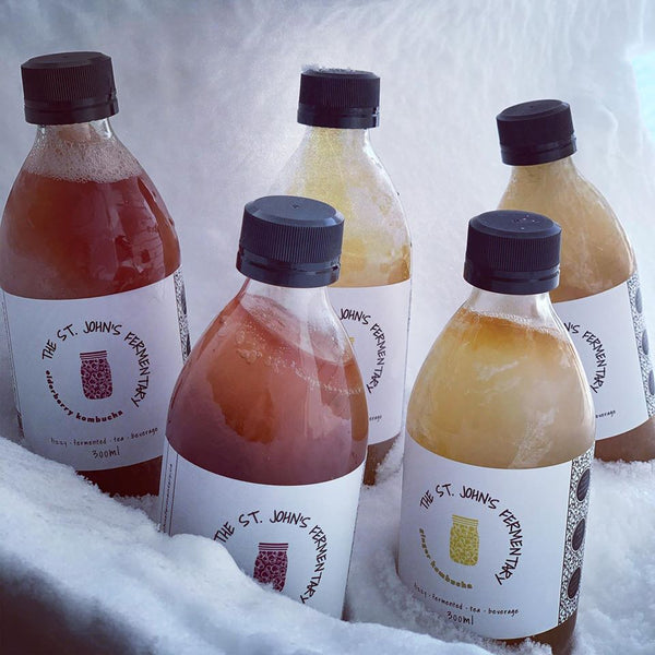 The St. John's Fermentary Kombucha (300ml)