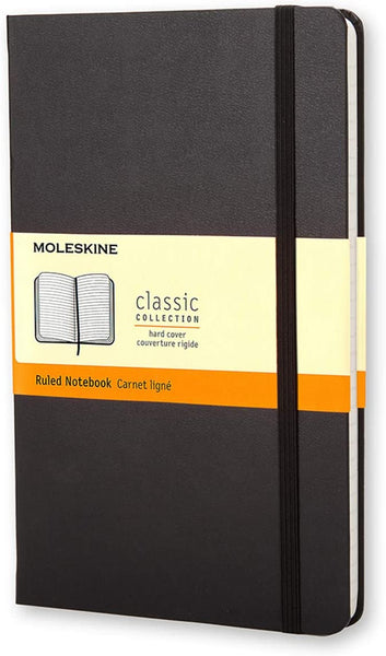 Moleskine Hardcover Notebook - Ruled