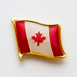 Pride, Republic of Newfoundland, and Canada Lapel Pins