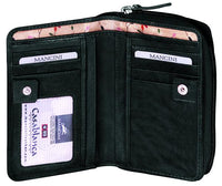 Mancini Casablanca Leather Wallet
