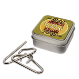 Mini Metal Madness Puzzle in a Tin