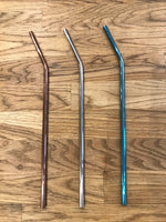 Stainless Steel Reusable Straws Singles