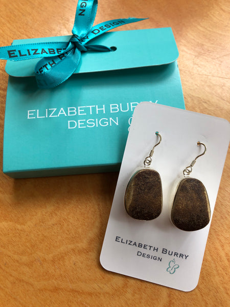 Elizabeth Burry Seaglass Earrings