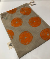 Lazy Bee Hand Printed Produce Bags