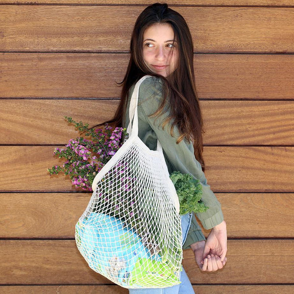 Kikkerland Cotton Net Bags