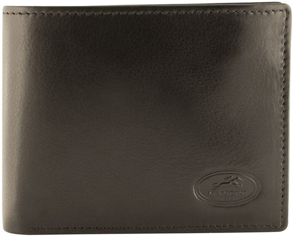 Mancicni Manchester Collection Men's RFID Secure Wallet with Coin Pocket