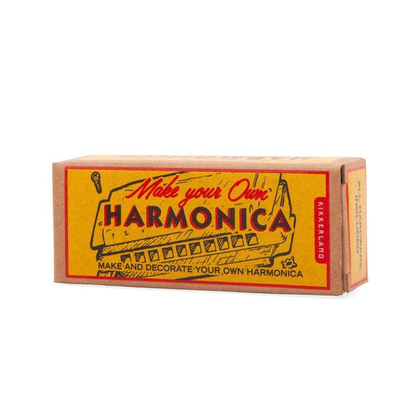Kikkerland DIY Make Your Own Harmonica