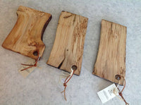 Natural Edge Serving Boards Made from Salvaged Newfoundland Wood