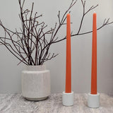 "Honey Candles Beeswax 12"" Taper Candles **Set of 2**"