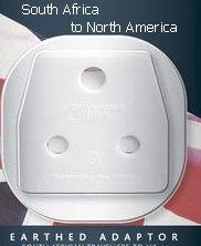 Go Travel South Africa/India to North America Adapter