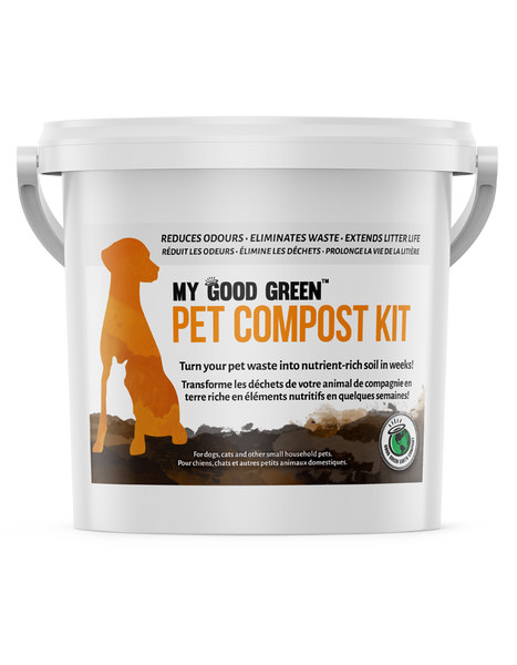 My Good Green Earth Bokashi Plus Pet Compost Kit