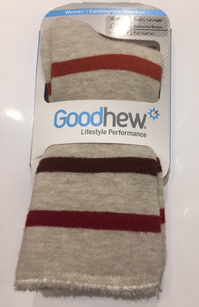 Goodhew Women's Cushy Lounger Full Cushion Socks
