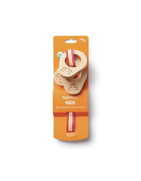Bambu Teething Tool w/ Leash