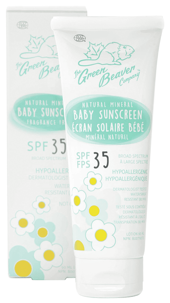 Green Beaver Baby Sunscreen SPF 35