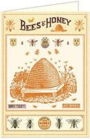 Bee Greeting Cards by Cavallini