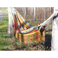 Tresart Cache Double Cotton  Hammock - Fair Trade Made