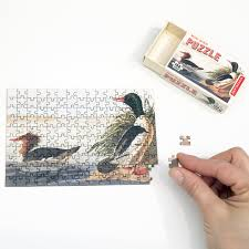 Kikkerland Mini Bird Puzzles