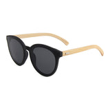Kuma Wood Frame Sunglasses