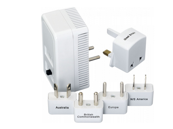 Go Travel Worldwide Adapter Converter Kit 1875W