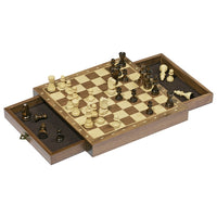 Goki Wooden Magnetic Chess Set