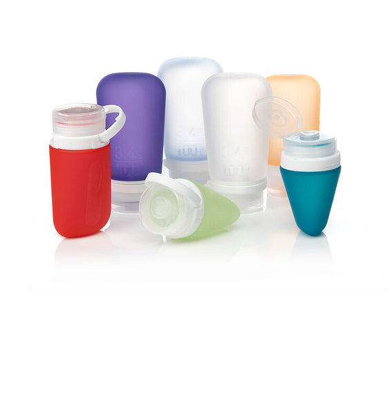HumanGear GoToob+ Silicone Bottles 3 Pack