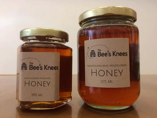 The Bee's Knees Wildflower Honey Made by Newfoundland Bees