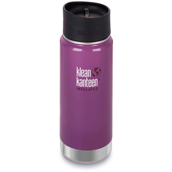 Klean Kanteen 16oz Insulated Wide Cafe Top - Wild Grape