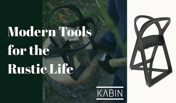 Kabin Quick Kindling Splitter | Black Cast Steel