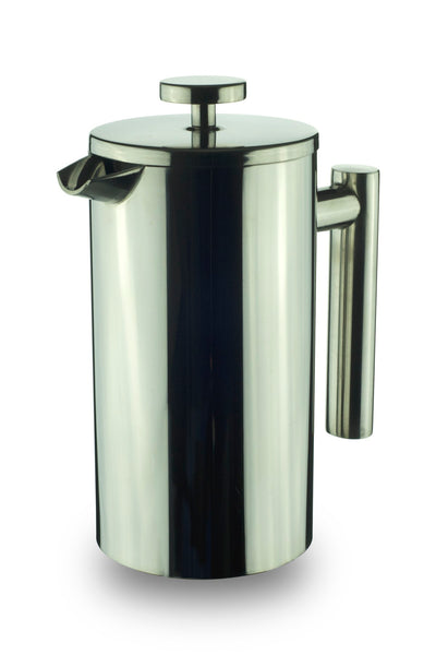 Minimal Stainless steel double wall French press, 800 ml