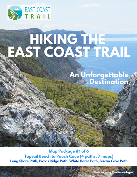 East Coast Trail - Individual Map Sets
