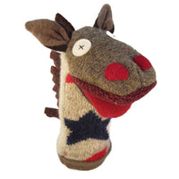 Cate & Levi Hand Puppet - Premium Reclaimed Wool