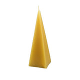 Honey Candles Pyramid Beeswax Candle