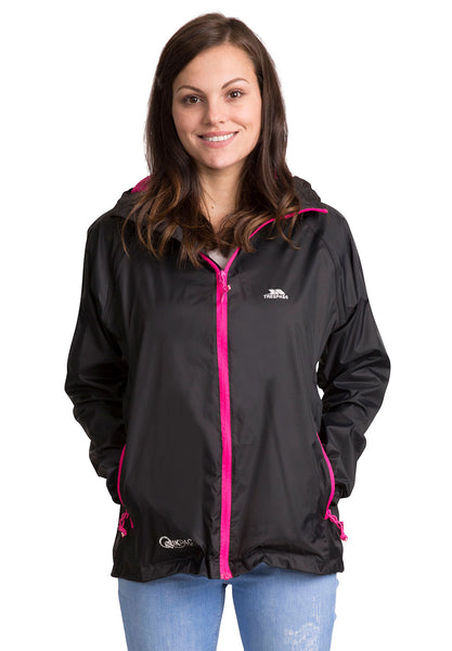 QIKPAC WOMENS WATERPROOF PACKAWAY JACKET