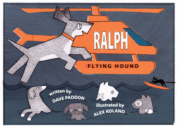 Ralph, Flying Hound - Dave Paddon