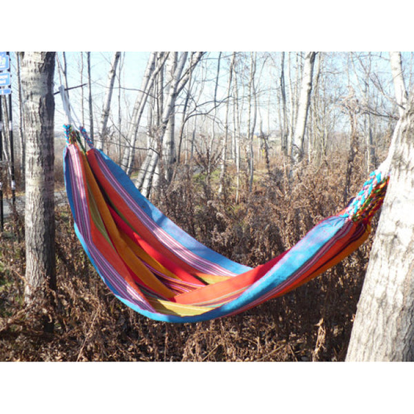 Tresart Cache Single Cotton Hammock - Fair Trade Made