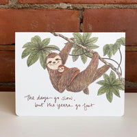 New Baby Greeting Cards by Gotamago